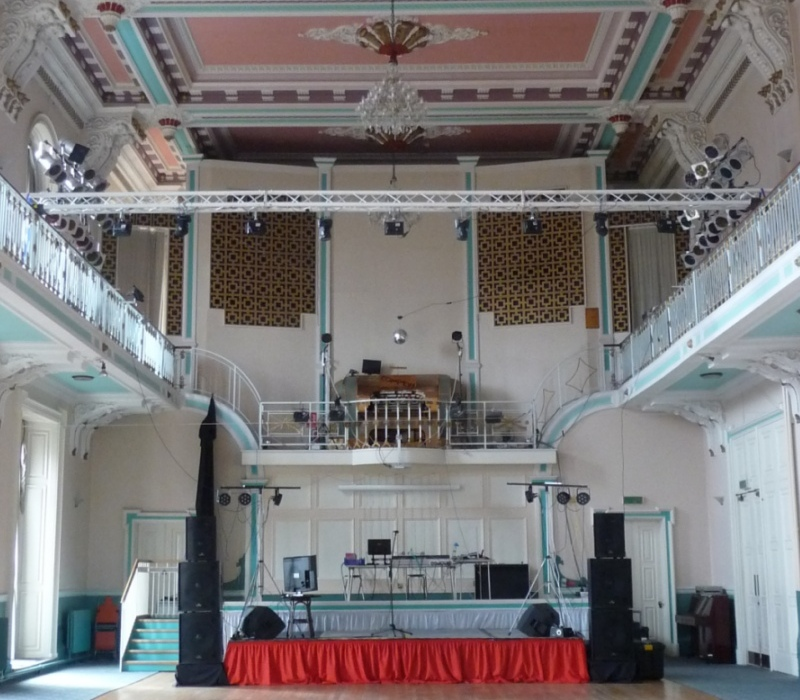 Inside Louth Town Hall - For Hire!